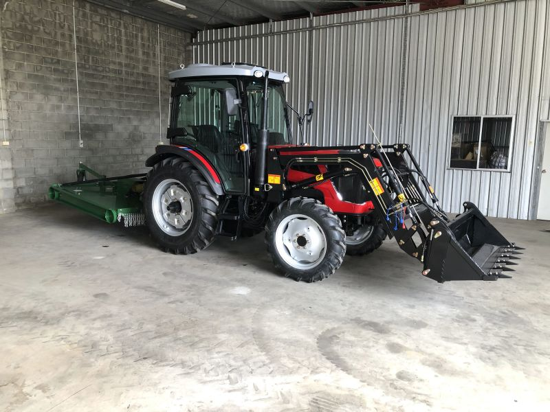 King 80 Tractor King